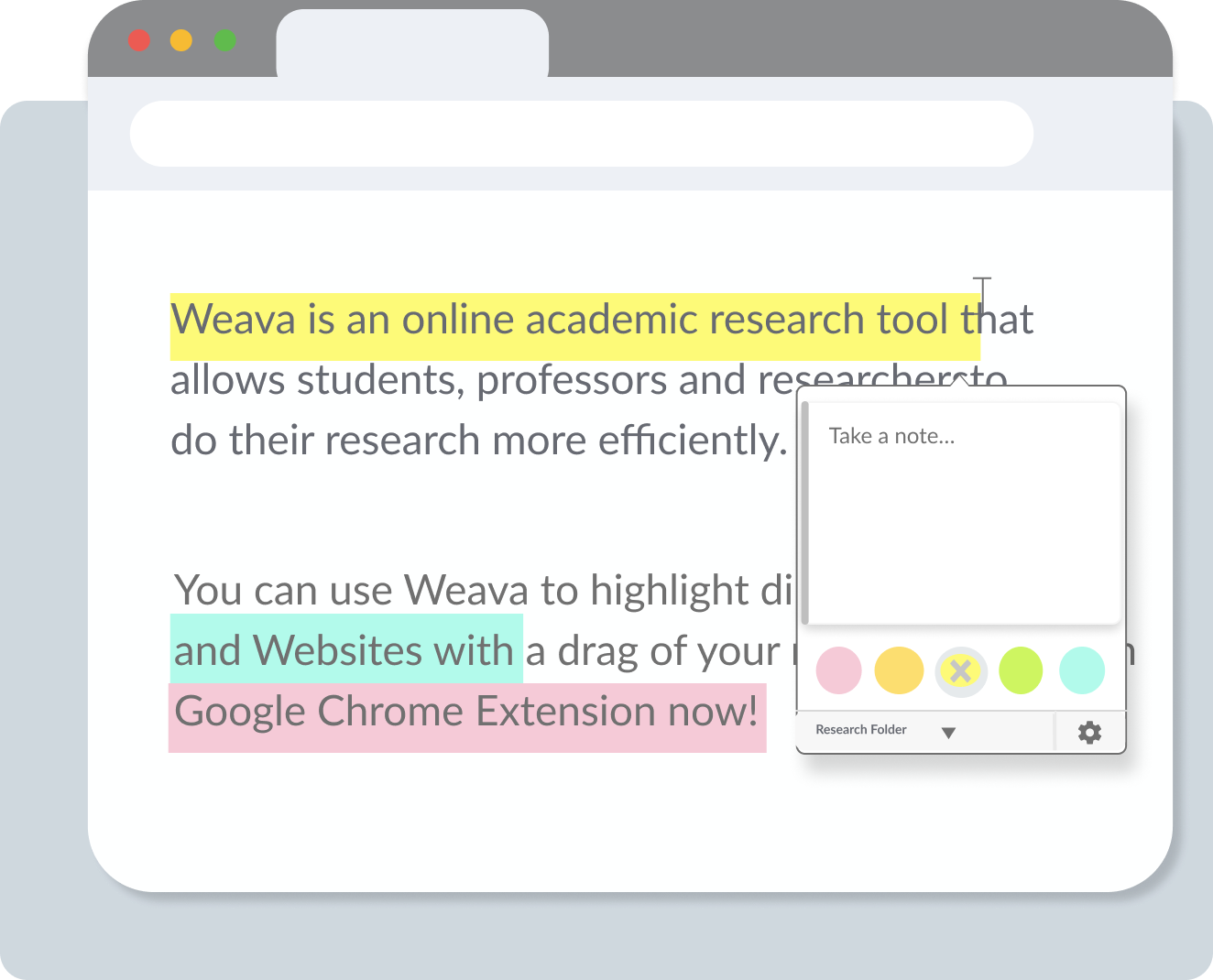 Annotate with Weava